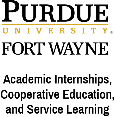 Purdue University Fort Wayne Office of Academic Internships, Cooperative Education, and Service Learning